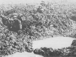 Poelcapelle area, 1917.