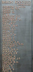 The Tower Hill memorial plaque (Image: http://www.benjidog.co.uk)