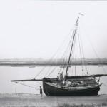 CK213, 'Boadicea' on the beach at Maldon.