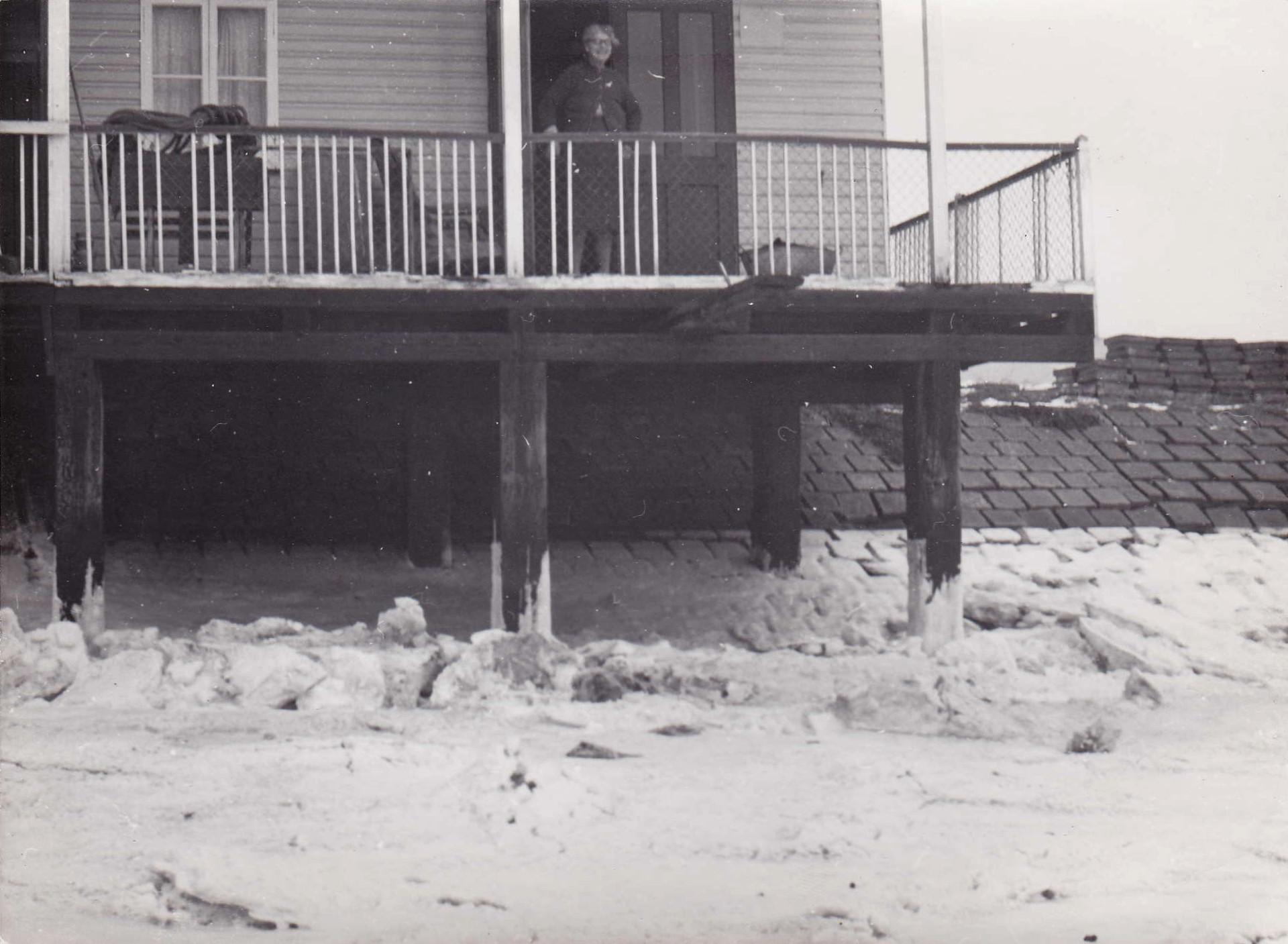 Lucy Kemp, Millbeach, winter 1962-3.